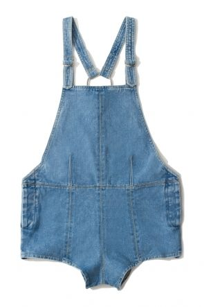 Friend of Mine Susie Blue Overalls Levi Blue here at Friend of Mine