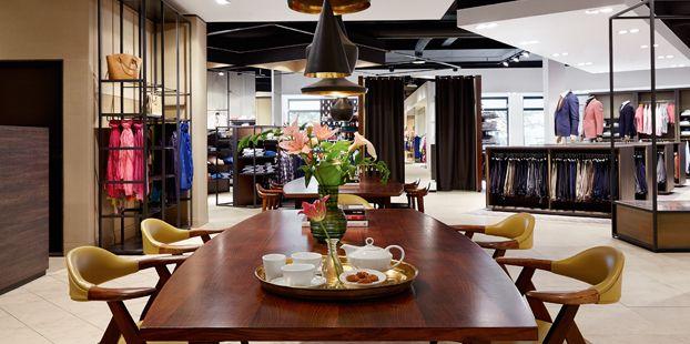 Koffietafel - Modehuis Blok Uithoorn