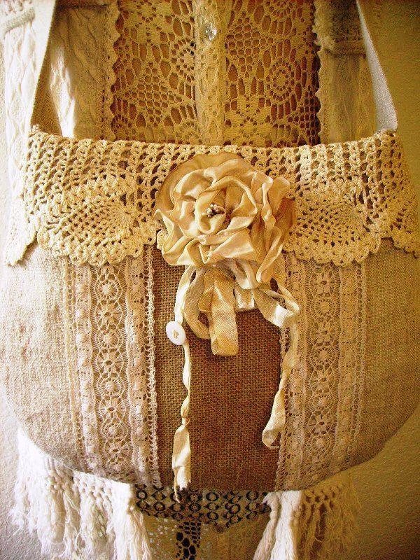 Tante bellissime borse in stile shabby chic - Il blog italiano sullo Shabby Chic e non solo