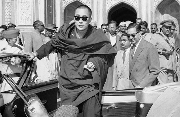 November 17, 1950: Tenzin Gyatso, fifteen, is recognized as the 14th Dalai Lama, the spiritual and political leader of the Tibetan people. China invades Tibet that year, and in 1959 the Dalai Lama is one of 80,000 who flee the country following a failed uprising. He establishes a government-in-exile in northern India and works to secure self-rule for Tibet through non-violent means.