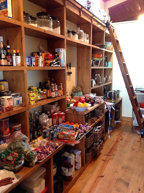 This is, without a doubt, the pantry of my dreams. It belongs to Ree Drummond (the very lucky Pioneer Woman).