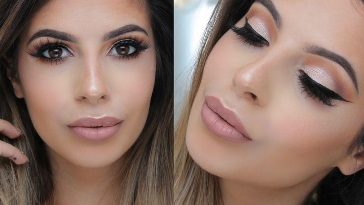Go -To Makeup Tutorial | VioletVoss X Laura Lee - YouTube