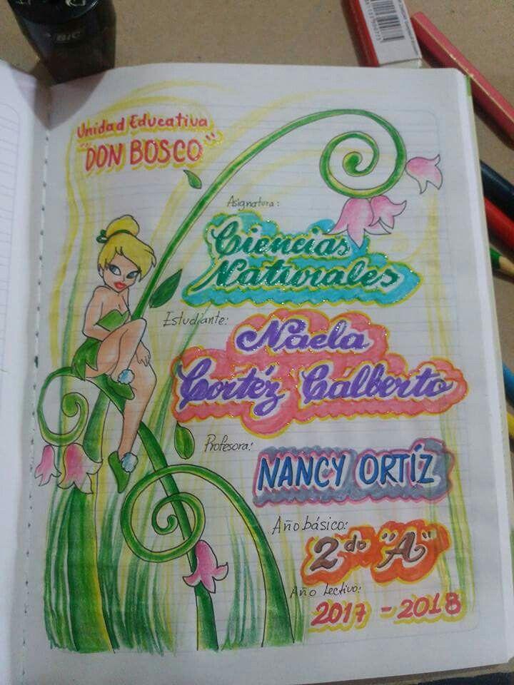 Carátulas Niña Caratulas Para Cuadernos Escolares Dibujos
