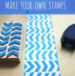 Chevron stampers