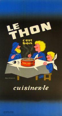 Le thon, c'est bon - Cuisinez-le - 1950's - (Jean Desaleux) -