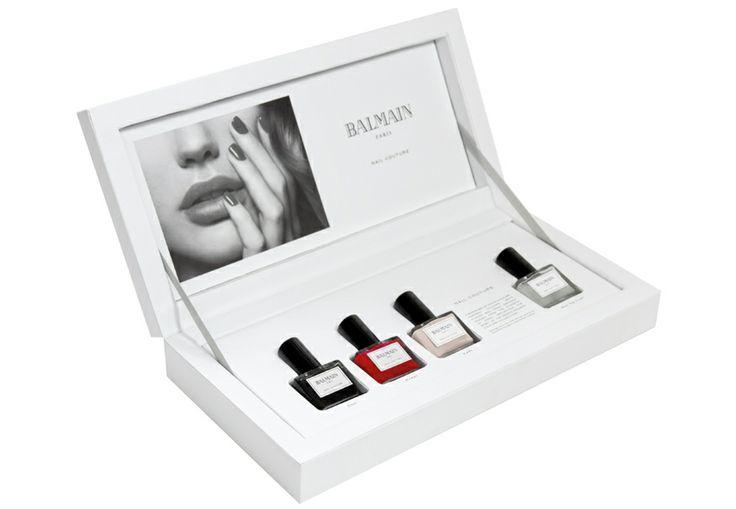 Balmain Nail Couture http://www.vogue.fr/beaute/shopping/diaporama/shopping-de-noel-special-beaute/16589/image/887860#!balmain