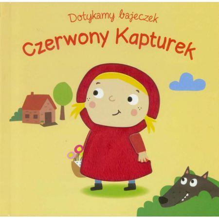 Ta urocza książka typu dotknij i poczuj wprowadzi Twoje dziecko w bajkowy świat Czerwonego Kapturka. Książeczki z serii Dotykamy bajeczek to najlepszy sposób na