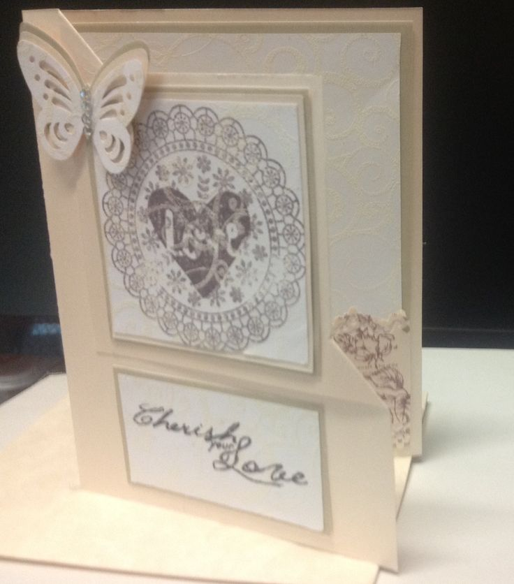 First attempt with shiny cardstock