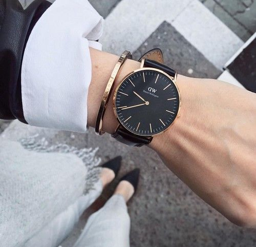 watch, fashion, and style resmi
