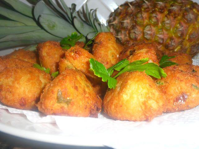 receitinhas da belinha gulosa: Pasteis de bacalhau com grão e chouriço corrente - Passo a passo