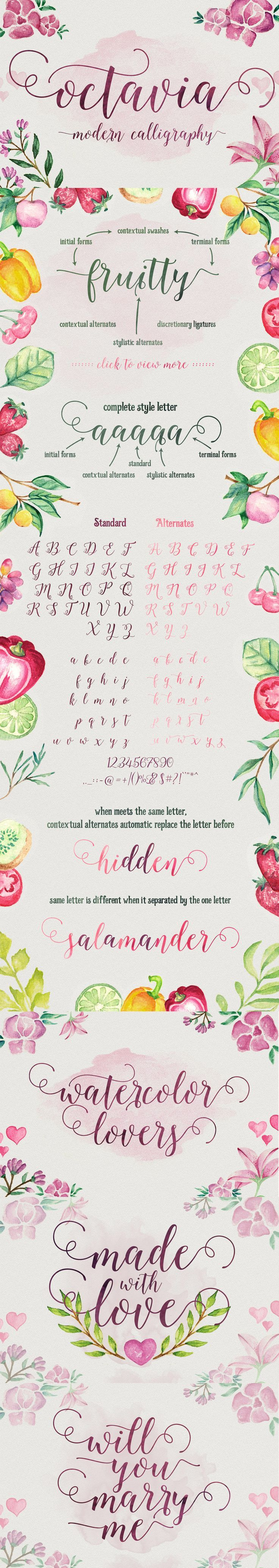 The Essential, Creative Design Arsenal (1000s of Best-Selling Resources) Just $29 - Octavia Script: