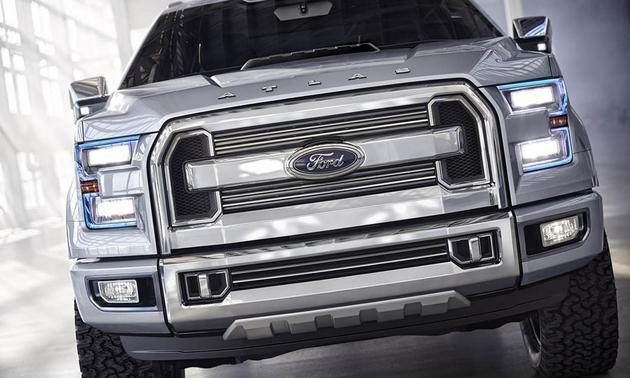 Ford Atlas Concept #concept #cars #auto #ford #pickup #truck #drivedana #nyc