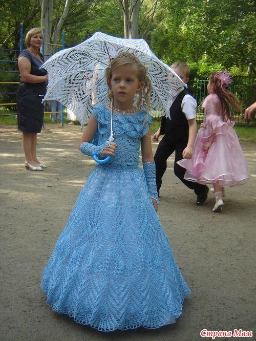 Выпускной комплект для моей принцессы болеро к выпускному платью схема к болеро основа зонтика схема №1 кзонту схема №2 идея для юбки платья я немного переделывала