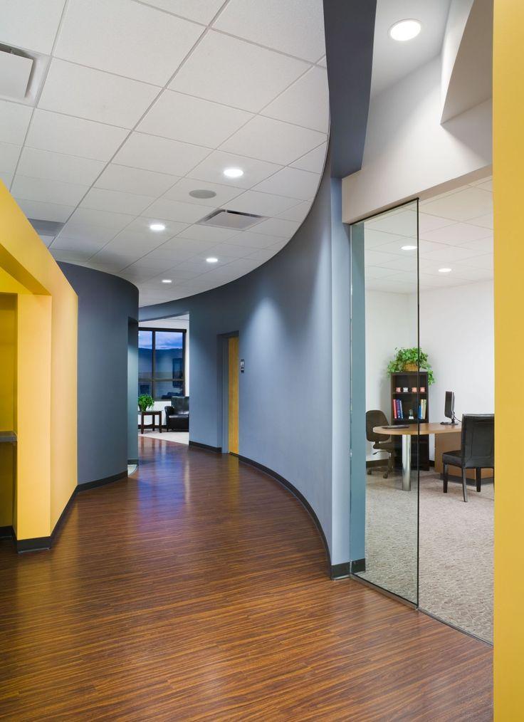 hallway office. prarie hawk hallway office
