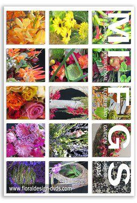 Melbourne International Flower and Garden Show- a close up look at the flower arrangements