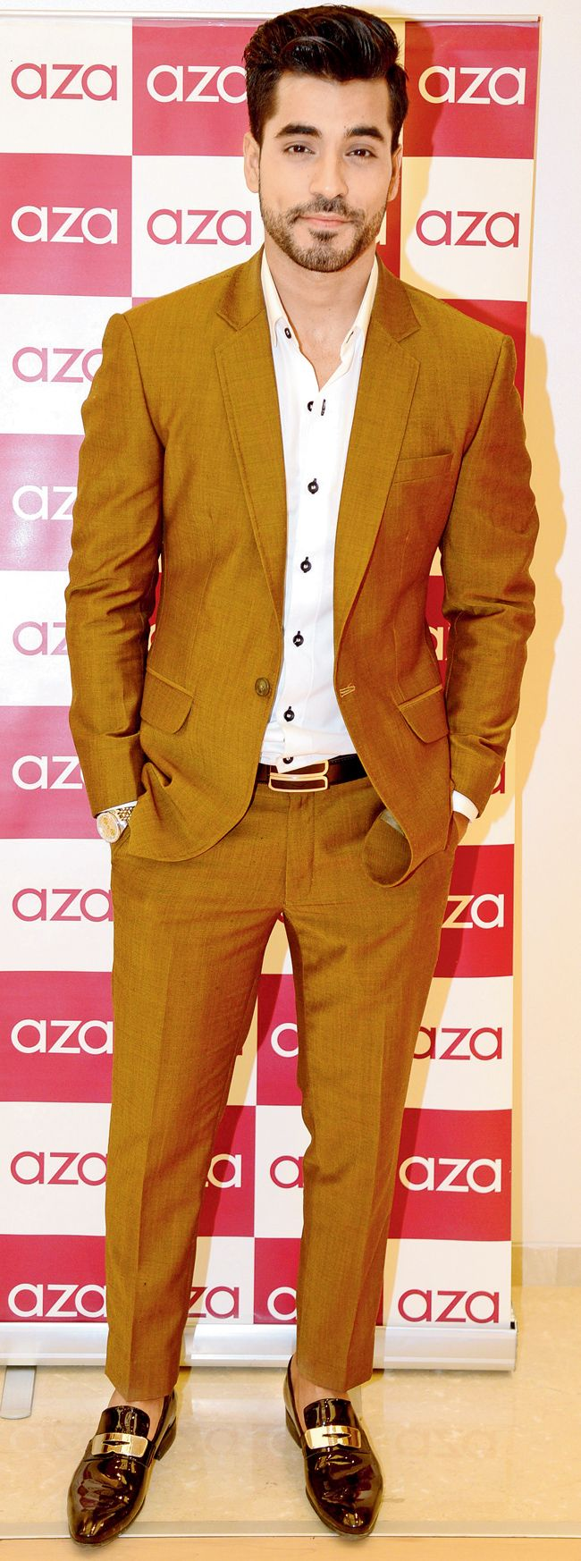 Gautam Gulati at the mens wear collection launch at Aza. #Bollywood #Fashion #Style #Handsome