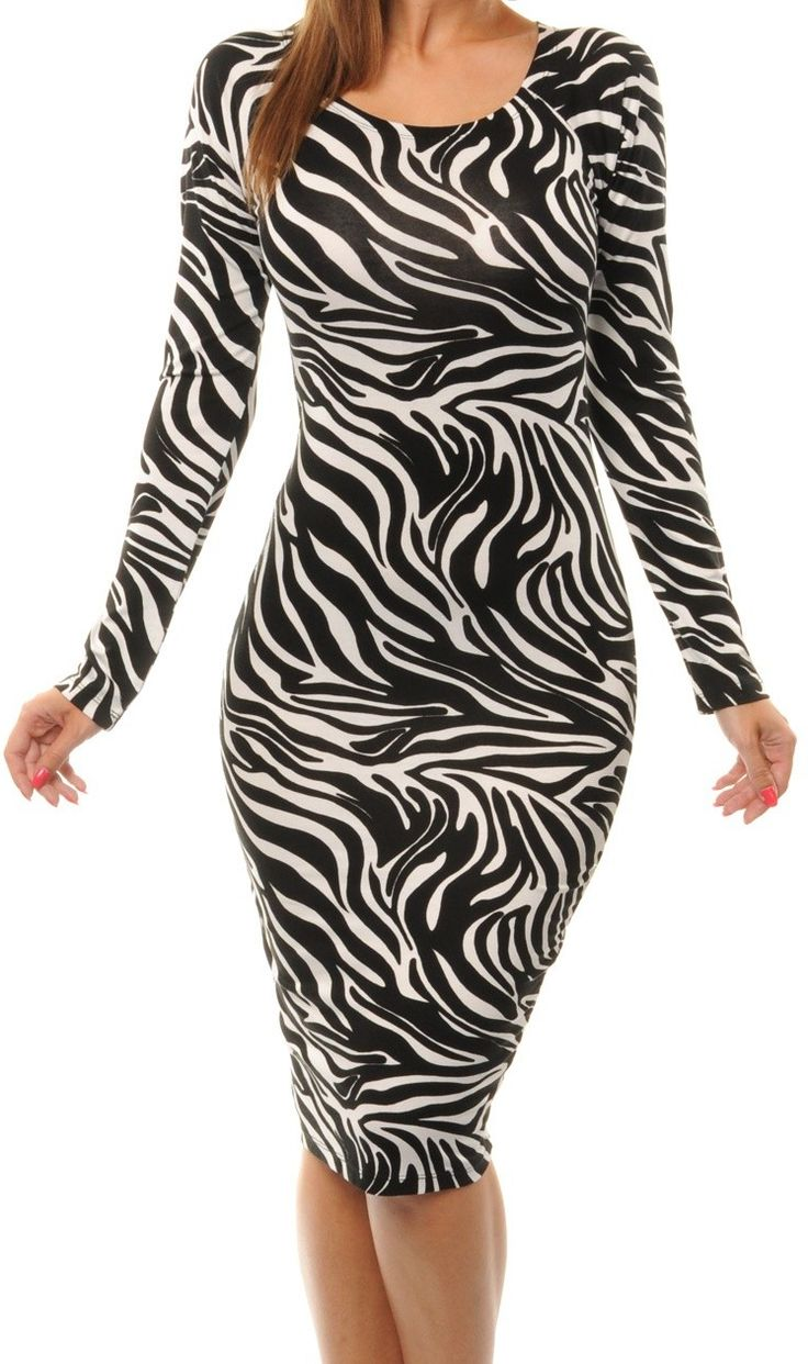 Zebra Print Evening Dresses 89