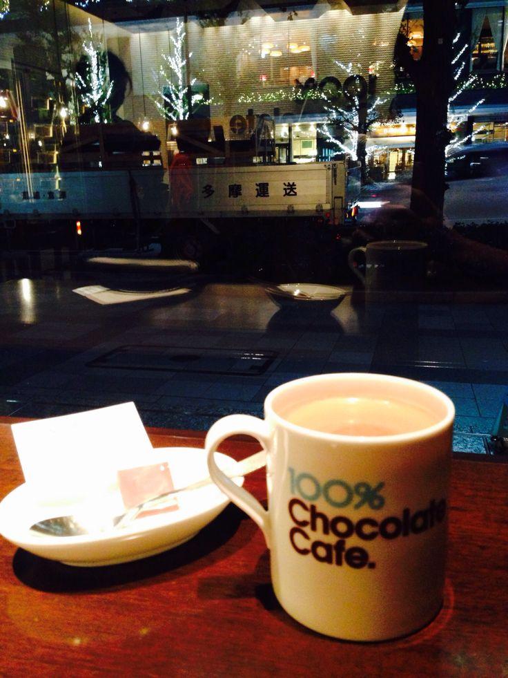 100% chocolate cafe,ginza,tokyo