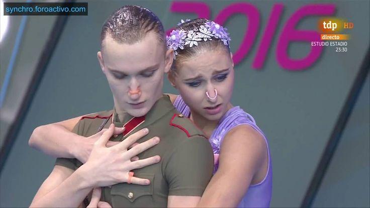 M. Kalancha/Aleksandr Maltsev (RUS) Duet Mixed Technical Final European ...