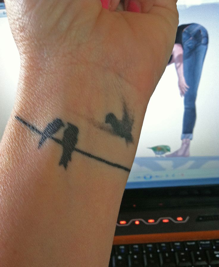 women's wrist tattoo ideas birds   Small Bird Tattoos – Designs and Ideas