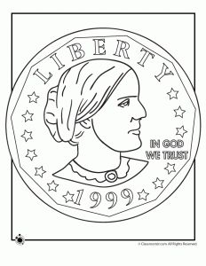 Engaging Lessons And Activities: Susan B. Anthony Free Printables Coloring Pages
