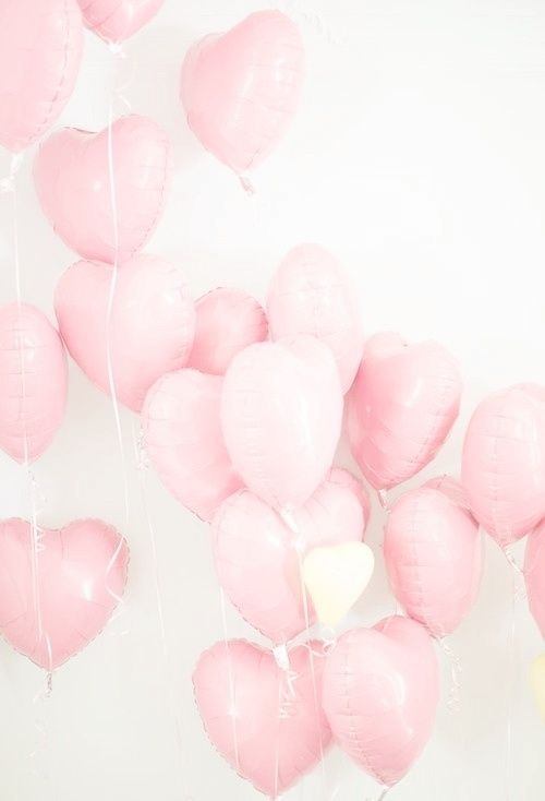 Pink balloons. Love balloons. Heart balloons. Love. Pink Party. Pretty in Pink. #idreamofYORK
