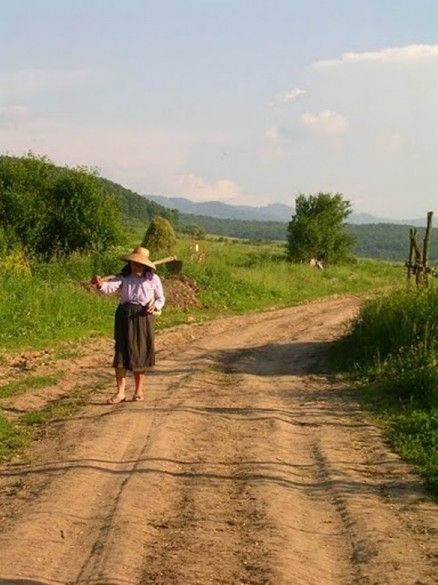 Romanian Village woman