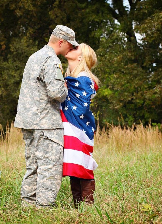 Army engagement photos