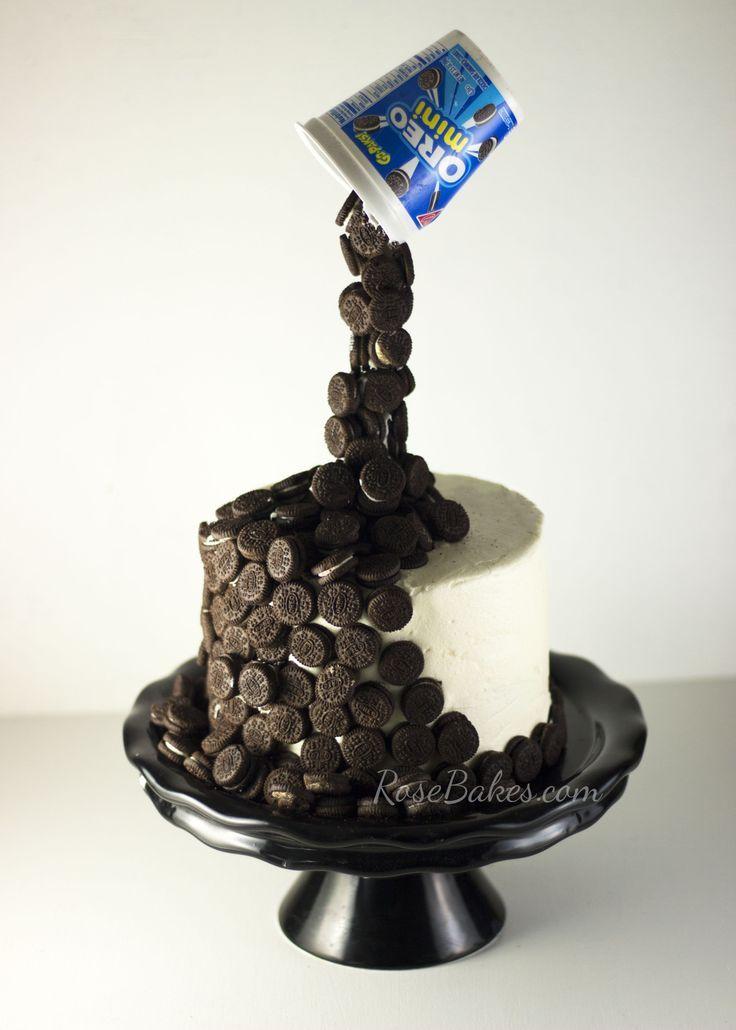 Gravity-Defying Oreo Cake