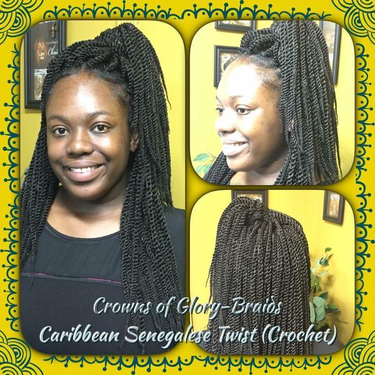 Crochet Braids  Caribbean Senegalese Twist Braids  https://m.facebook.com/crownsofglorybraids/