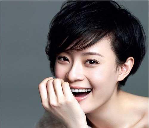 15+ Cute Asian Pixie Cut
