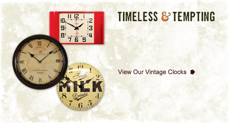 Vintage and Reclaimed - Magento website design for a vintage furniture retailer