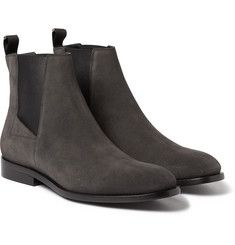 Balenciaga Suede Chelsea Boots