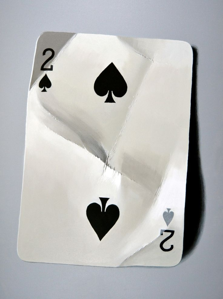 Peter Slade | ACRYLIC | Playing Card