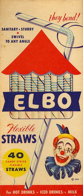 .We NEVER got these - they were more expensive than the straight straws - so when we DID have them, it was very special!
