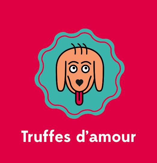 Truffes d'amour branding