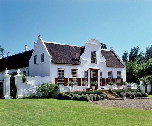 Stellenberg Estate - a perfect example of Cape Dutch architecture