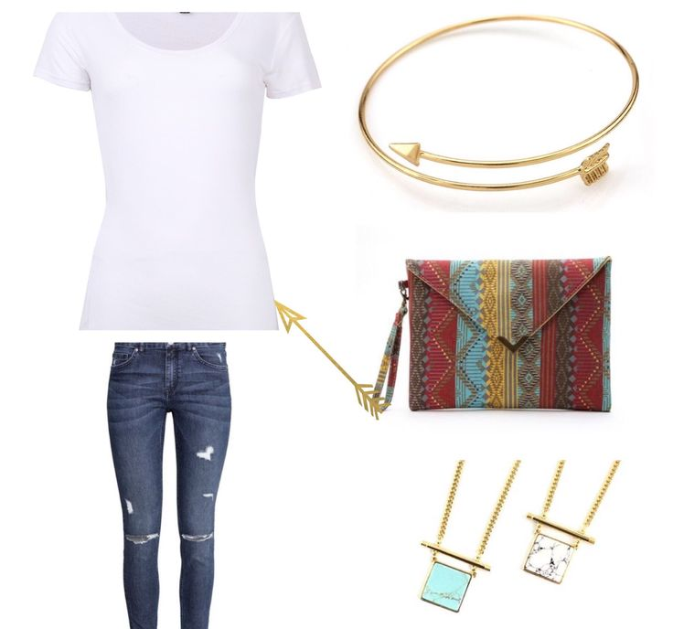 Do you need some #fashiontips on how to add colour to a neutral outfit??......Add some bold #jewelry or a colourful #handbag.  Arrow Style Bangles $6  Fashion Pattern Clutch $21  Longway Necklace $15 www.rolascloset.com