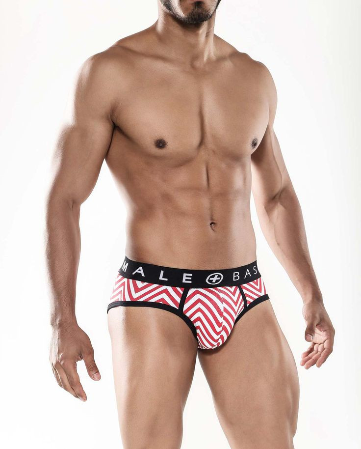 The idea behind Malebasics Chevron Print Men's Hip Brief was to recreate the tribal patterns found in African and Amazonian art. Although elegant and beautiful, these briefs provide all-day support whether at work, the gym or a night out. #menswear #mensunderwear #mensstyle #briefs