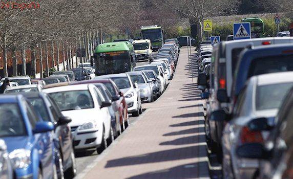 Dos accidentes complican el tráfico en las salidas de Madrid por la A-6 y la A-1