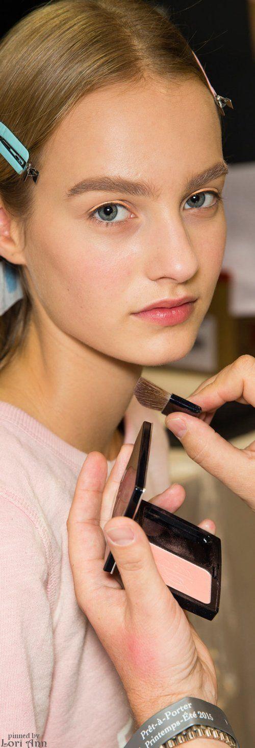 Dior Spring 2015 RTW Backstage - Model: Maartje Verhoef