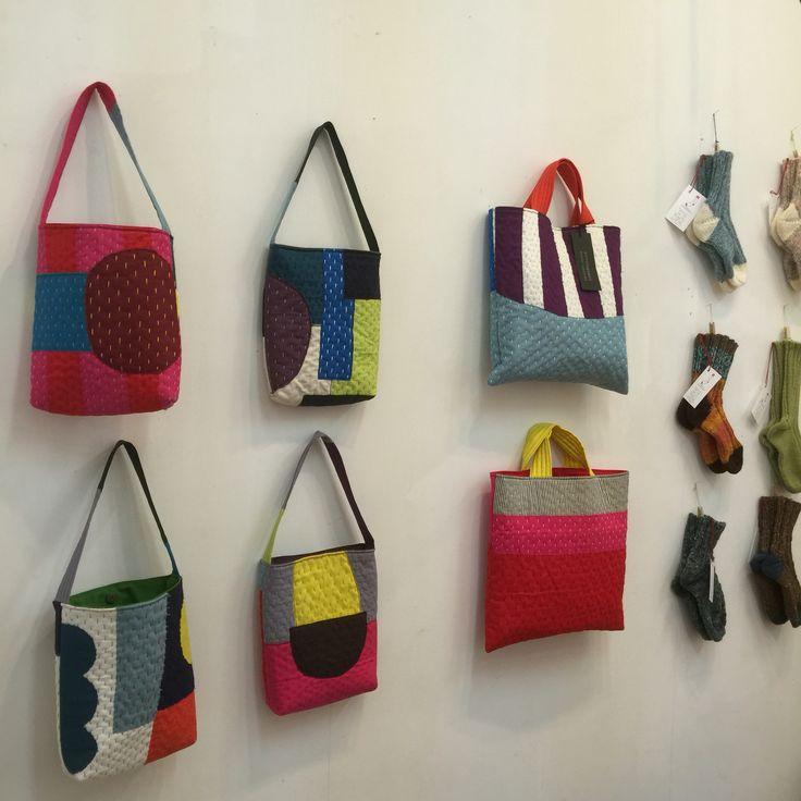 Masami Yokoyama bags (inspiration)