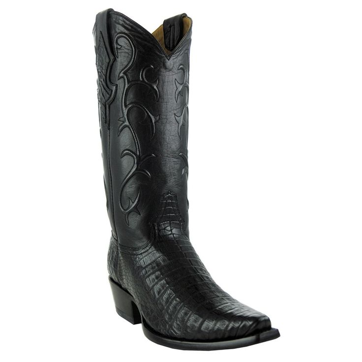 Benchmark By Old Gringo Mens Belly Caiman Tioga Boots