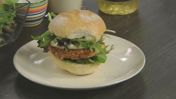 Vegetarische hamburger   VTM Koken