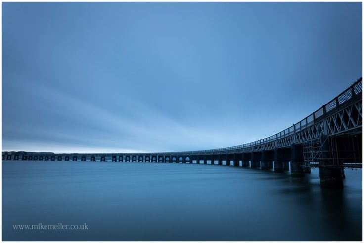 Tay Rail Bridge in Dundee, SCOTLAND. Landscape Photography.