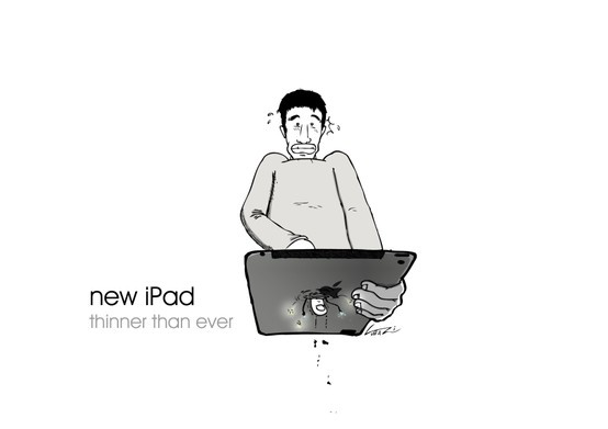 new iPad...