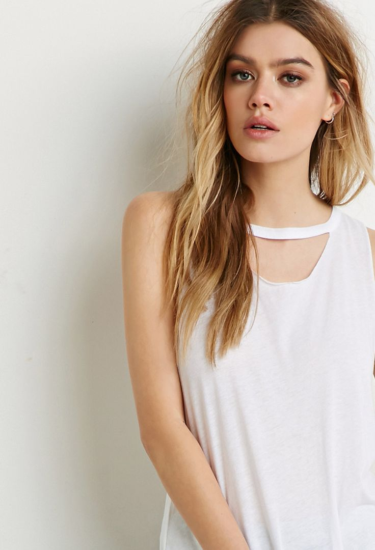 Cutout Muscle Tee | Forever 21 - 2000184229