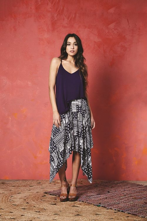 Valley of the Dolls Mars 2 Top and Yolo Skirt