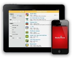 KinderTown- find the best educational apps for preschoolers