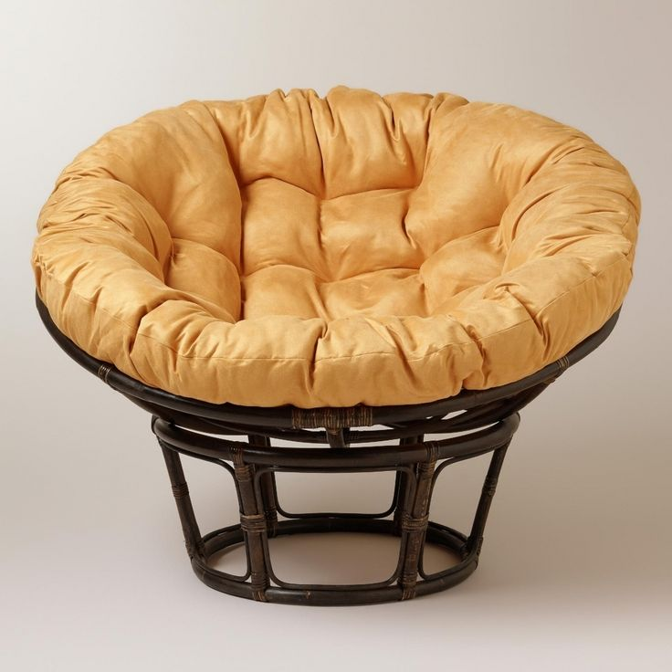 42 best papasan cushion images on pinterest seat for Black papasan chair cushion